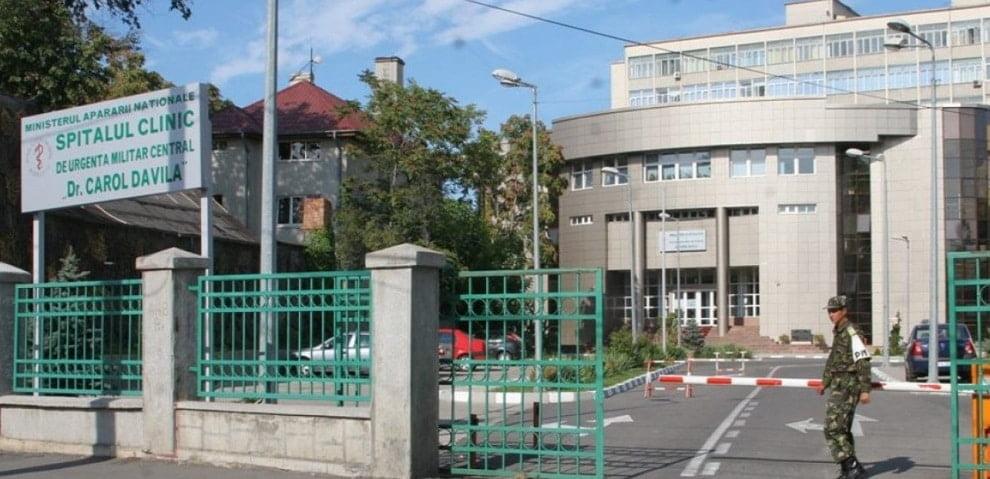 """Spitalului Universitar de Urgenţă Militar Central """"Dr. Carol Davila"""""""
