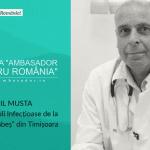 """Medicul Virgil Musta, interviu exclusiv în revista tiparită """"Ambasador pentru România"""""""