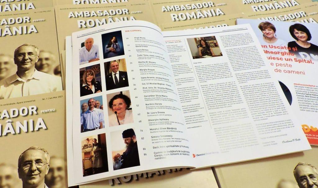 """Revista """"Ambasador pentru România"""" - Numarul 1"""