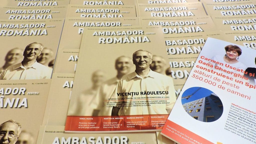 "A apărut revista ""Ambasador pentru România""!"