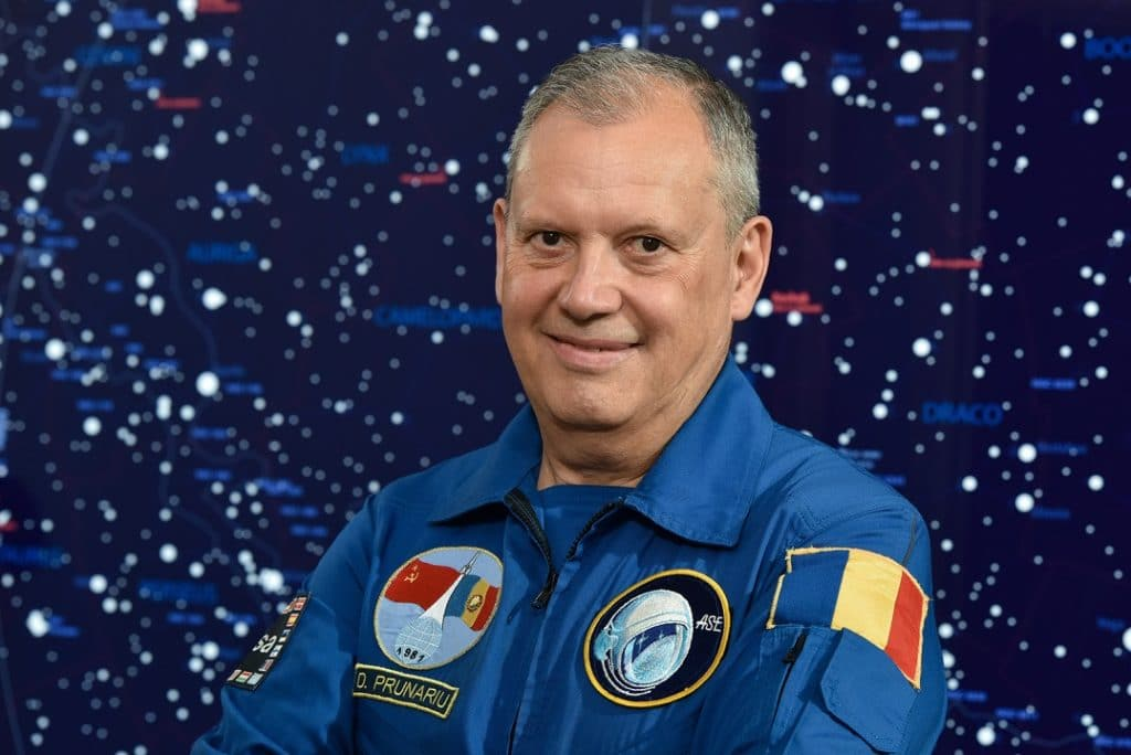 Dumitru Dorin Prunariu la Observatorul astronomic Vasile Urseanu Bucuresti (2019)