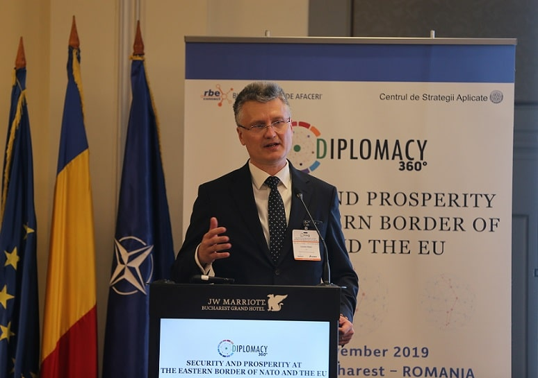 "Valentin Preda, președinte al Bursei Române de Afaceri și inițiator Diplomacy360, la interviurile ""Ambasador pentru România"""