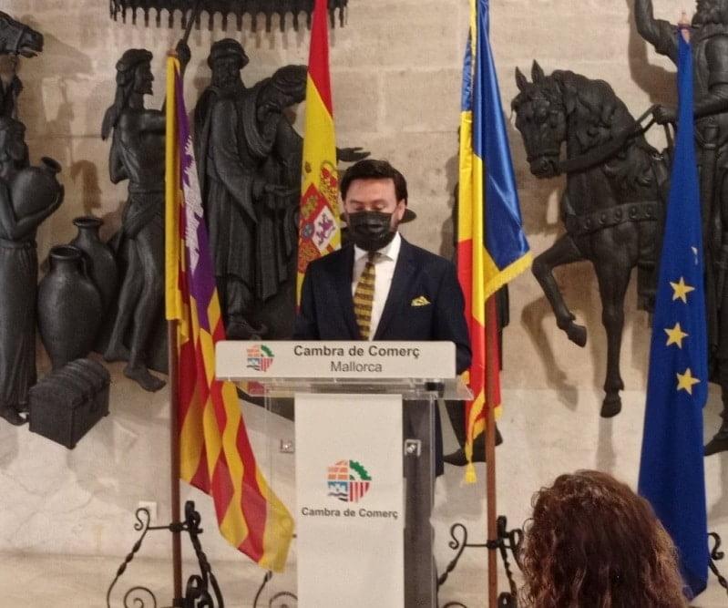 Alexandru Lazăr a fost numit numit Consul Onorific al României în Insulele Baleare